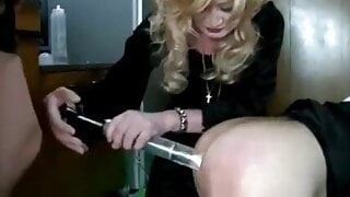 Guy Being Trained To Be A Sissy