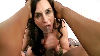 Stacked Mature Lady Goes Black