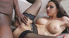 Italian Secretary Martina Gold Has Morning Anal Quickie With A BBC