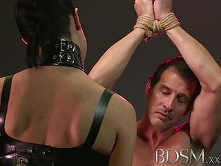 Slave boy erotica - Bdsm xxx slave boy in metal stocks as he receives anal