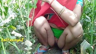 Desi village outdoor pissing and fuck – public porn video