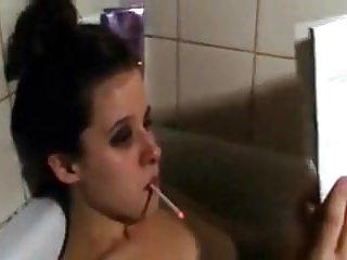 120 cigarette blowjob - Me sandy yardish having a capri menthol 120s cigarette on