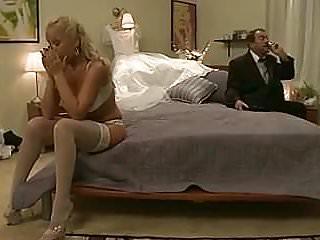 White skin big boobs White skin slut sits on a hard cock and enjoys it