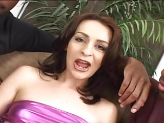 Milf gets dpd by black cock Skinny brunette gets dpd and fucked hard