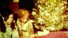 Santa Fucking in Christmas Threesome (1960s Vintage)