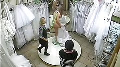 spy camera in the salon of wedding dresses 2 (sorry no sound