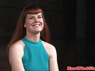 Ginger moore bdsm Ginger sub fingered and toyed by black dom