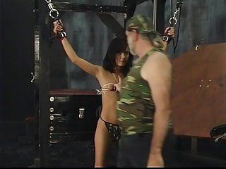Gal on torture bench porno Sexy britt has sensative body for max fetish on torture place