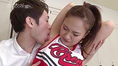 Shizuku Hatano :: Cheerleading Sex 1 - CARIBBEANCOM