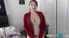 anal gape Alexis Rodriguez PropertySex - Latina real estate agent with big ass fucking pissing