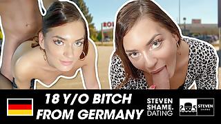 Sweet Teen Sub Lisa enjoys a fuck date! StevenShame.dating