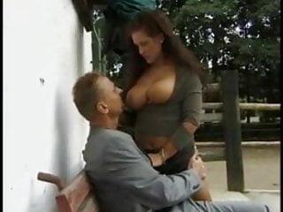 Porno sandra Busty german milf sandra outdoor fuck