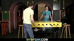 Two gay boys have fun toghether