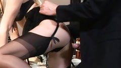 Nice Threesome in stockings