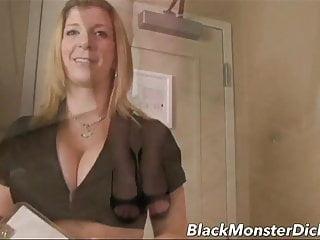 Sara black cock - Big boob sara jay double stuffed with black cock