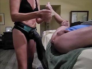 Pegging strapon Pegging Porn