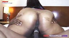 Big Butt Ebony Mature Named MacchiatoBBW