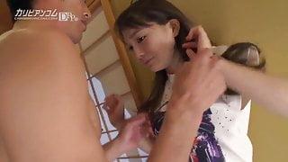 Nina Mizushima :: Shooting inside 3 Times 2 - CARIBBEANCOM