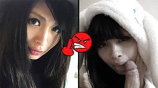 SCREWMETOO Horny Japanese Asian Bunny Has Serious Skills