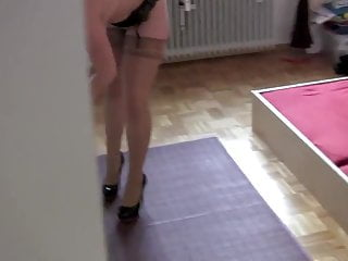 Nylon stockings porn video - Nylonkitty - die lektion vom stiefpapa