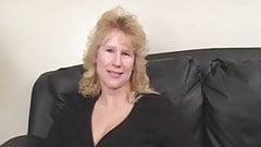 BBW Milf on her casting gets two black dicks