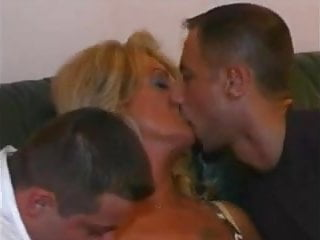 Mature woman fucking young men Mature woman and two young men