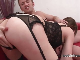 Lesbian fist fucked hard with foot - Petite french brunette hard analized plugged and fist fucked