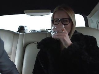 Virgin limousines Black stockings nikki dream hard fucking in limousine