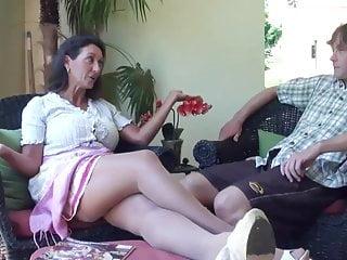 Stepson gets fucked Real taboo - stepmom gets kinky with stepson