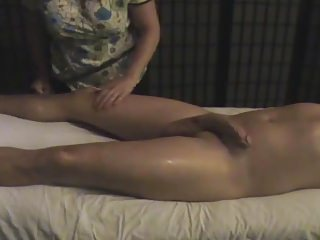 Handjob ameature Hidden cam happy ending five