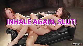 straight girl to bi lesbian cum slut hypno trainer pop