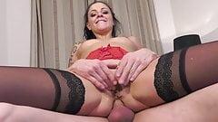 Black Stockings NATACHA GUAPA Threesome DP