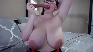 Amazing Jessie with enormous juicy tits and tight big ass