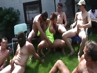Susie naked Gangbang with susi