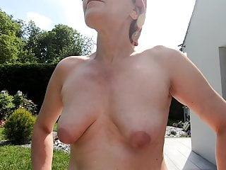 Presses liea nude Chantal nude press breath and piss