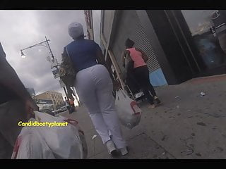 Ass big booty fat latina pants tight voyeur - Monster african phat booty candid in tight white pants
