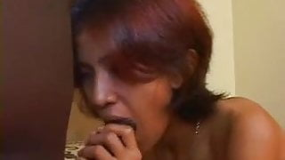 Huge Ebony Fucks Asian