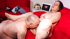 AMATEUR EURO - Brunette Mature German It's In For Sex Report