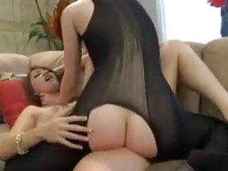 Naked girlfriend vidoes Lesbian in bodystocking fucks her naked girlfriend