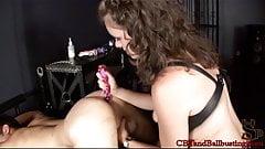 CBT Goddess Starli gets an anal virgin whore