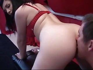 Girl licking guys anus - Licking sweet anus