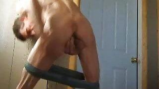 KJ Cums In His Own Ass
