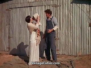 Barn jewelry pottery teen Busty brunettes hairy cunt fucked in a barn 1970s vintage