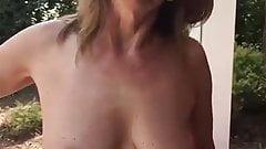 Natacha showing her tits