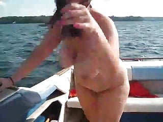 Girl boat fuck Chubby woman fucked on a boat