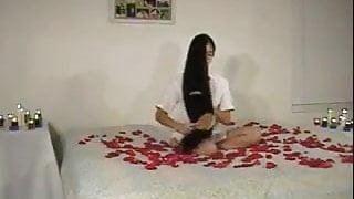 Cecelia Hoy, Sexy Hair Play On Bed