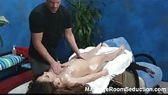 Horny Teen Gets Hidden Camera Massage!