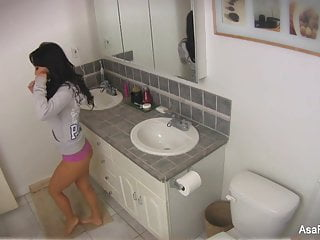 Home video of masturbation - Asa akira home video bathroom play
