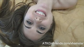 After a POV date with Riley Reid you cum on her face