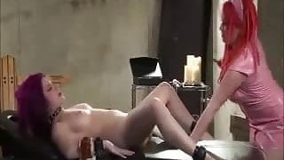 Femdom Dominating A Lesbian Submissive
